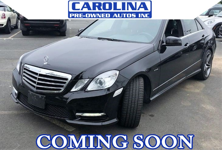 2012 Mercedes-Benz E 550 4MATIC Sport Sedan