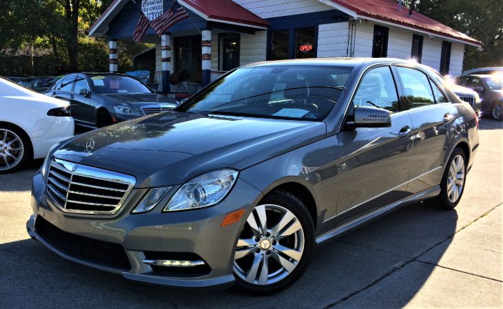2013 Mercedes-Benz E 350 BlueTEC Luxury Sedan