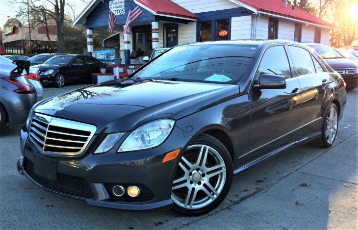 2010 Mercedes-Benz E 350 4MATIC Sport Sedan