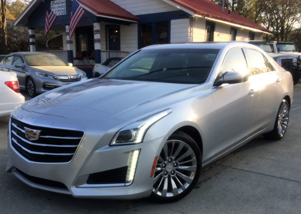 2016 Cadillac CTS Sedan Luxury Collection RWD