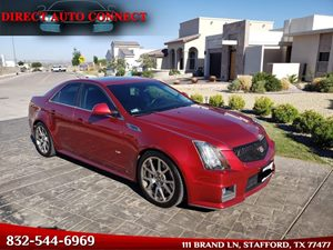 View 2009 Cadillac CTS-V Sedan Panoramic Sunroof
