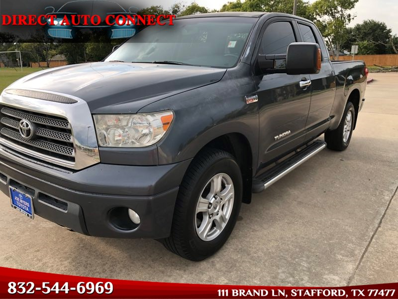 2007 Toyota Tundra 5.7 LIMITED Double Cab Leather Limited Bluetooth Touch Screen HEATED Seats