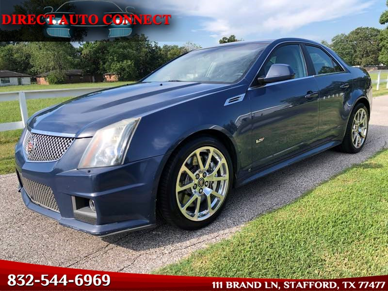 2009 Cadillac CTS-V Navigation Panoramic Sunroof 1 of 82 California 2 Owner 100% STOCK