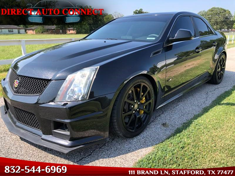 2012 Cadillac CTS-V Sedan Black Diamond BOLT ON V Sedan Beautiful!