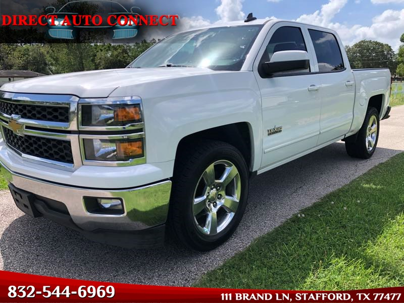 2015 Chevrolet Silverado 1500 LT Crew Cab Back Up Camera / Heated Seats