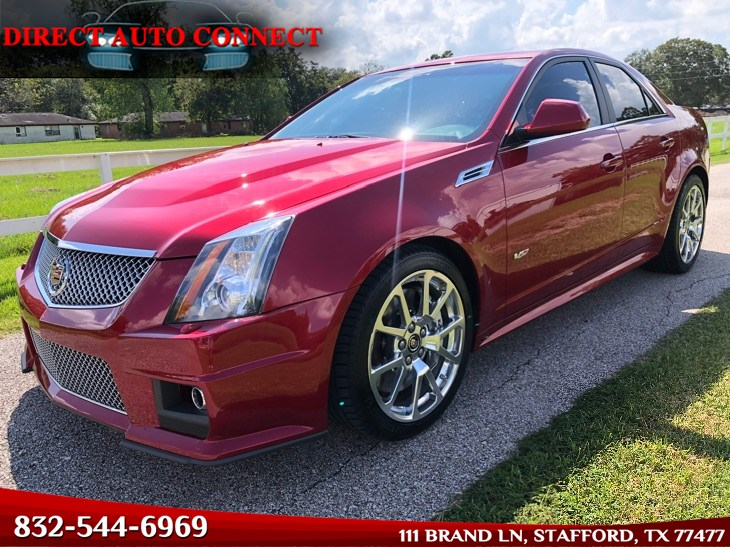 2010 Cadillac CTS-V 600HP BOLT ON SUPER CLEAN