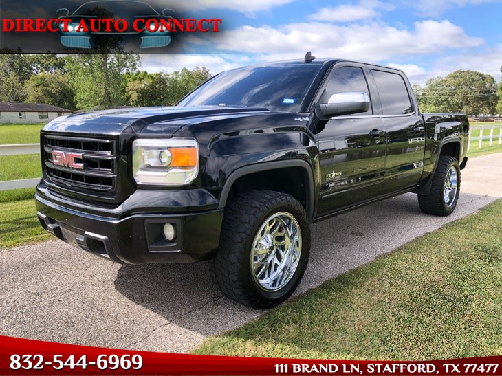 2015 GMC Sierra 1500 SLE 4X4 LOADED. Heated Seats. Upgrades!