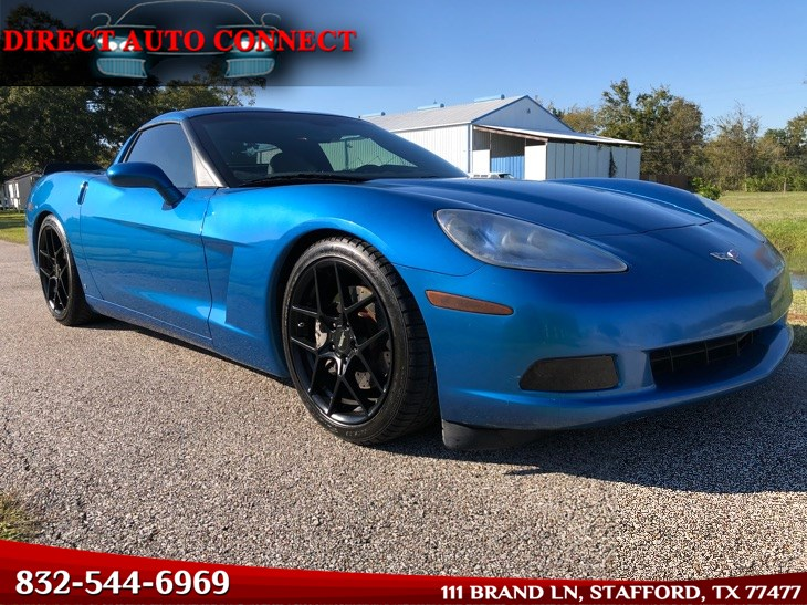 2008 Chevrolet Corvette Z51 Package w 2LT / Borla Atak Exhaust. 2 Owner