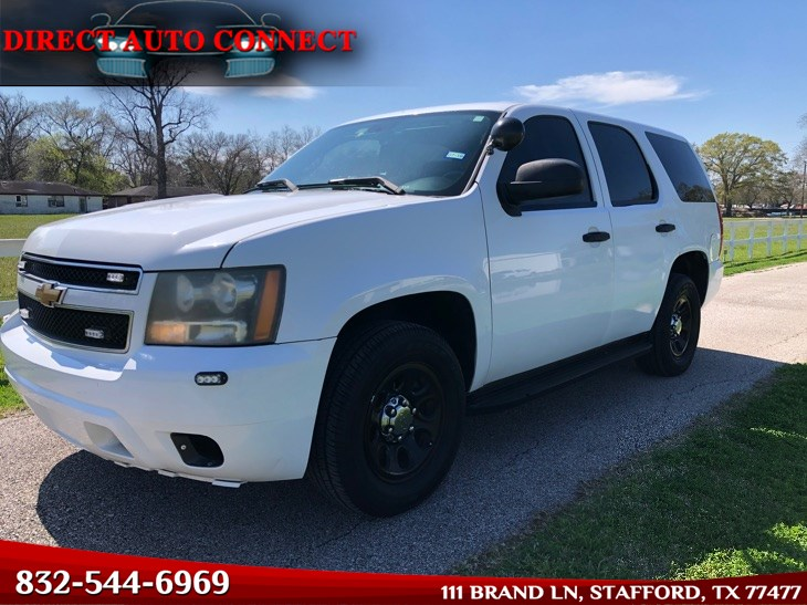 2007 Chevrolet Tahoe Police Package Sirens & Police Lights / Clean CarFax / New Tires