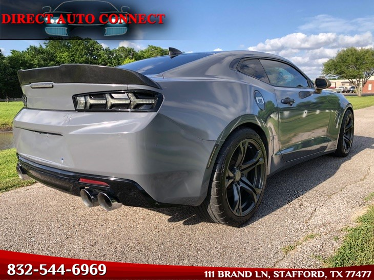 2016 Chevrolet Camaro 1SS ZL1 Wheels / 6SPD / Exhaust