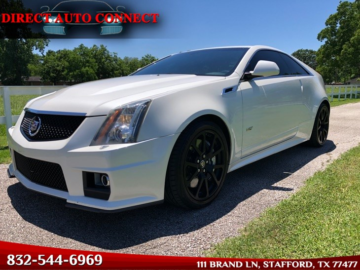 2012 Cadillac CTS-V Coupe Recaros, Modded 650+HP, Fully Loaded