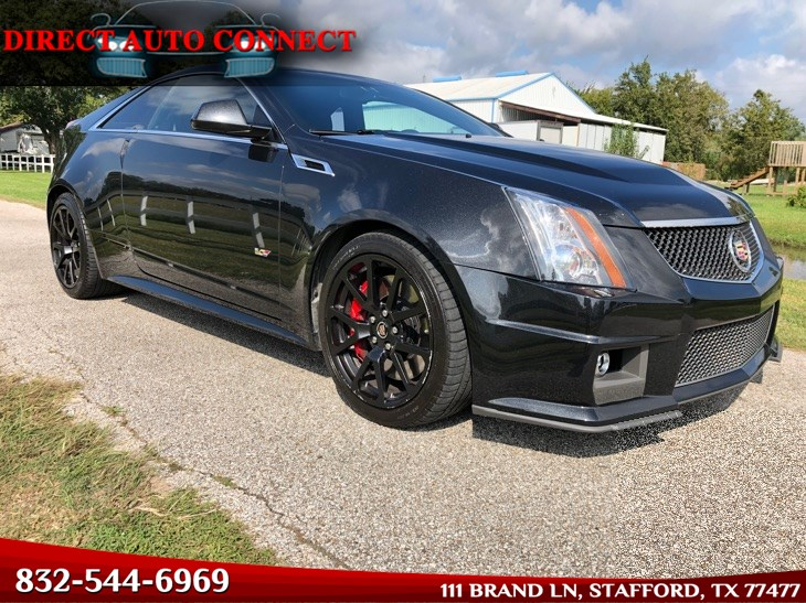 2015 Cadillac CTS-V Coupe Rare 1 Out of 500 Made 550HP All Stock