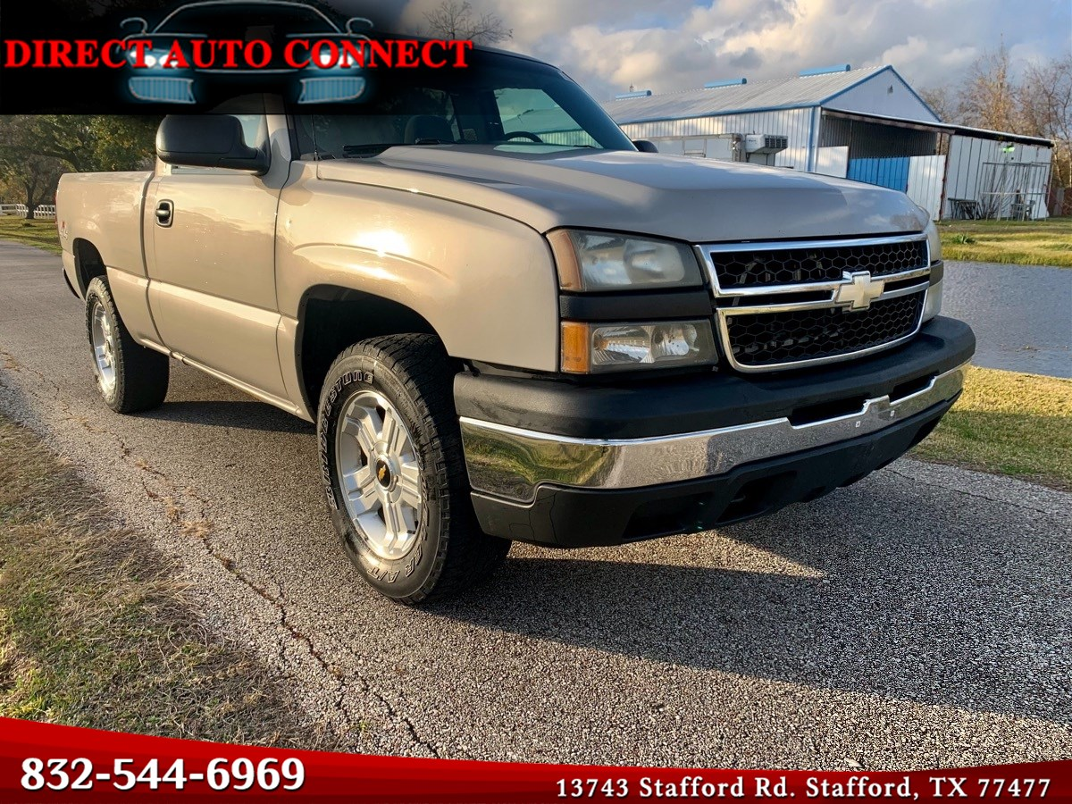2007 Chevrolet Silverado 1500 Classic Single Cab Short Bed V8 4x4