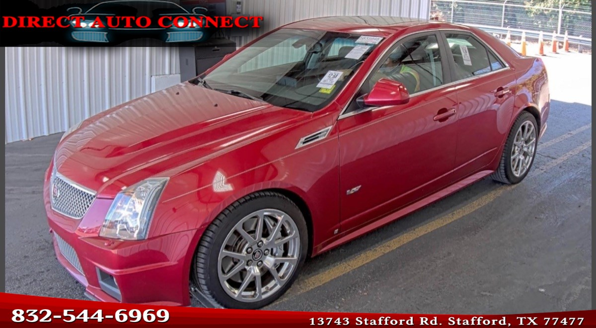 2009 Cadillac CTS-V One Owner Super Clean All Factory
