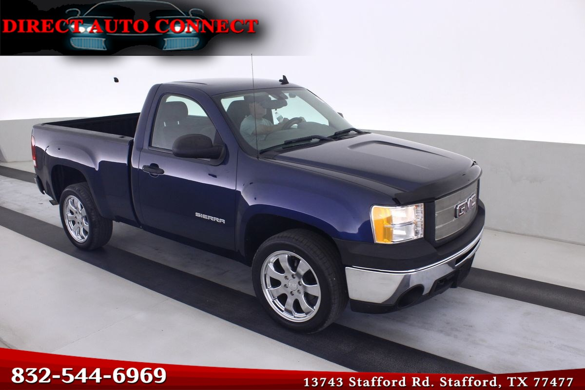 2010 GMC Sierra 1500 Short Bed Single Cab 5.3L V8