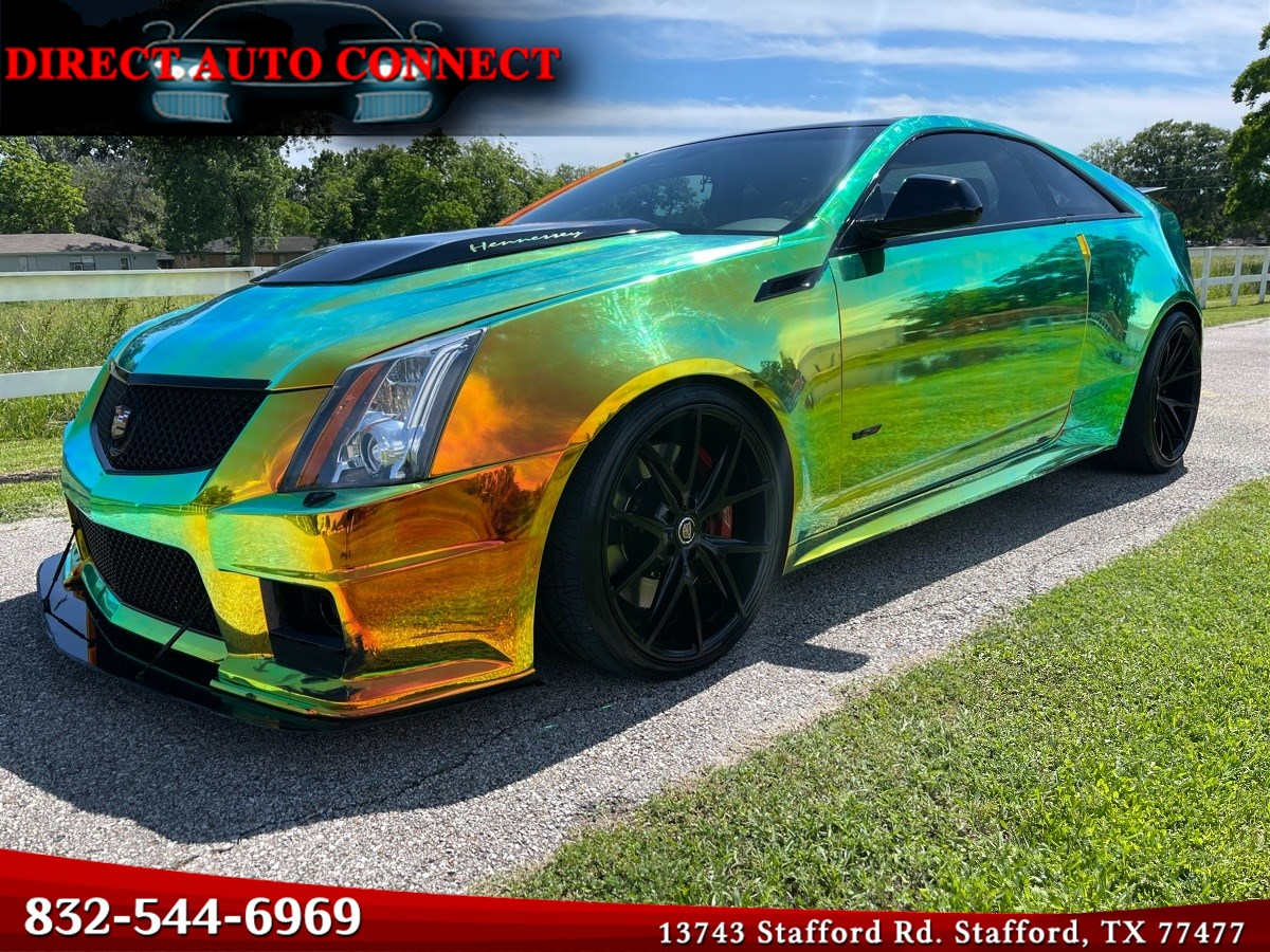 2013 Cadillac CTS-V Coupe 600+HP MATTE FROST with Wrap  Intake & Exhaust