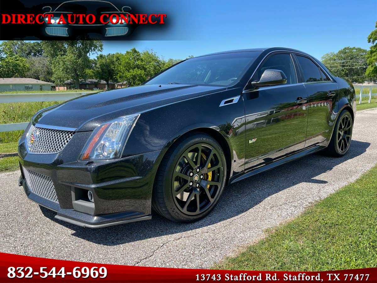 2011 Cadillac CTS-V Sedan Immaculate Low Miles Recaros / 2.45 Upper / Intake