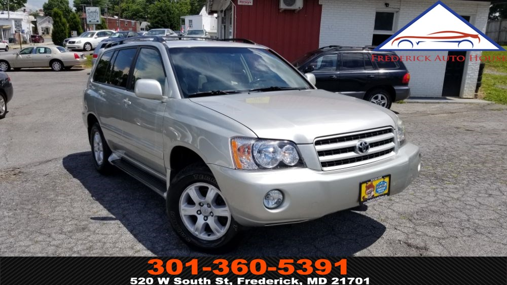 2002 Toyota Highlander Limited