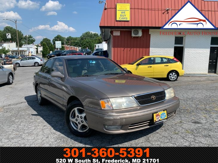 sold 1998 toyota avalon xls in frederick sold 1998 toyota avalon xls in frederick