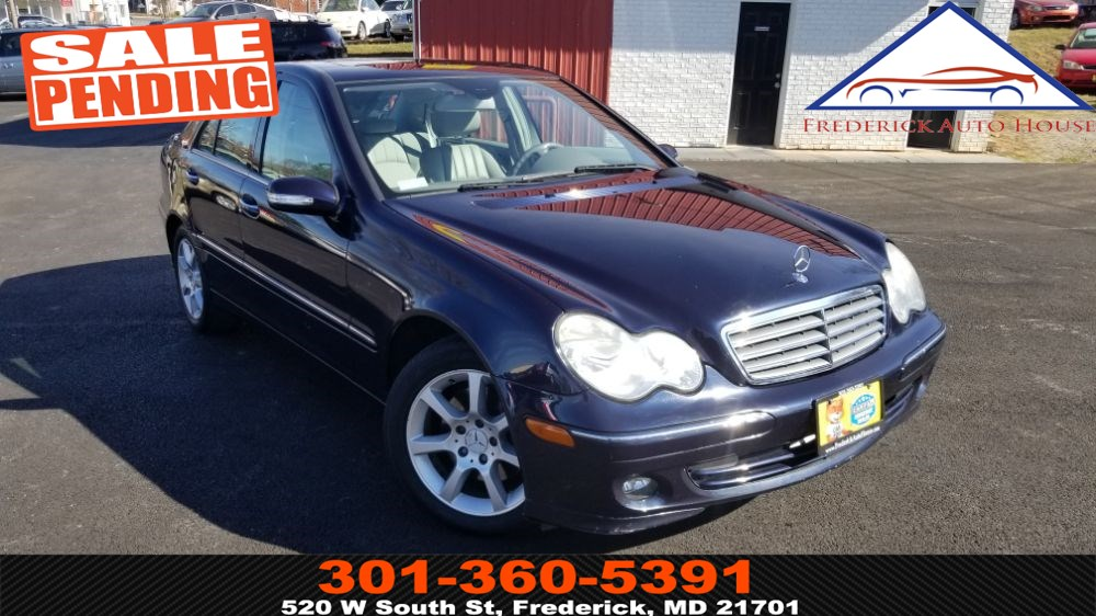 2007 Mercedes-Benz C280 Luxury 4MATIC Sedan