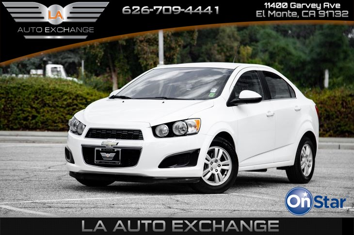 2012 Chevrolet Sonic LT (Gas Saver & Eco Friendly)