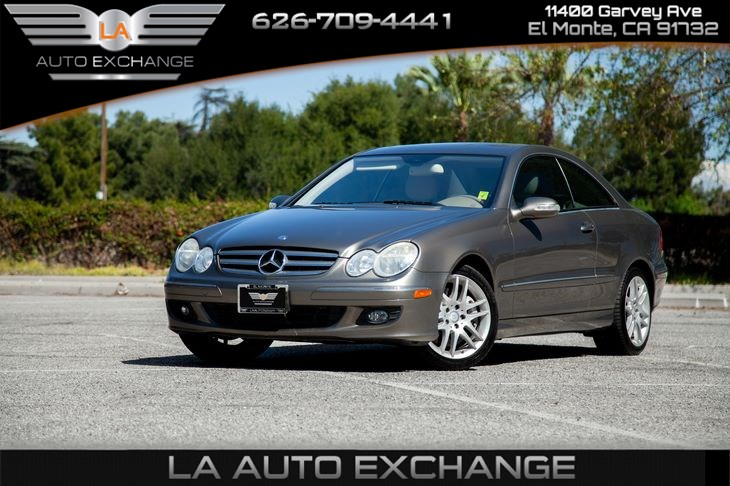 2009 Mercedes-Benz CLK350 Coupe (luxurious)