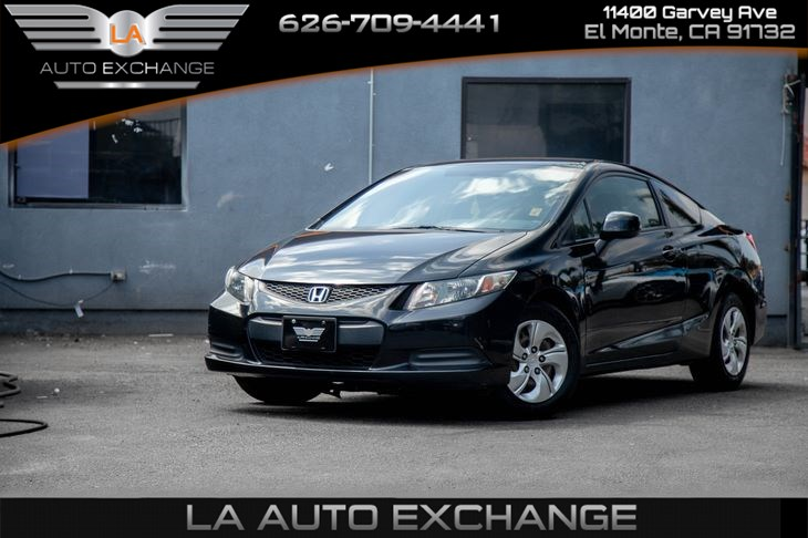2013 Honda Civic Cpe LX (Gas Saver)