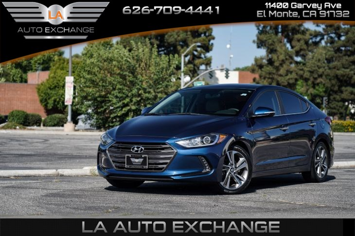 2017 Hyundai Elantra Limited (Backup Camera & Mp3)