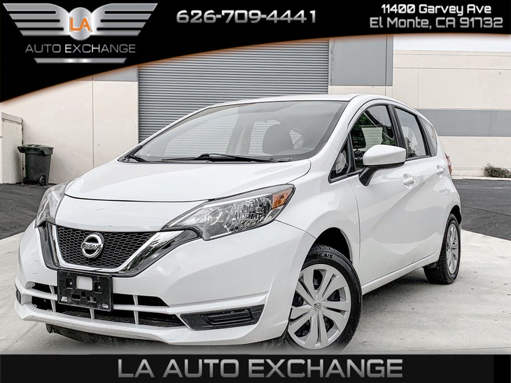 2017 Nissan Versa Note S Plus (Air Condition)