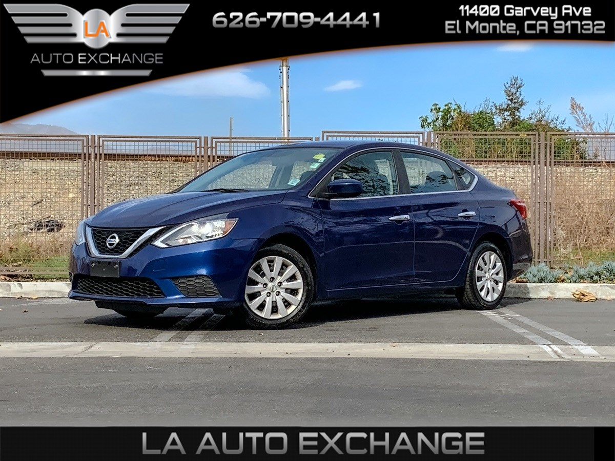 2017 Nissan Sentra SV (Backup Camera & MP3)