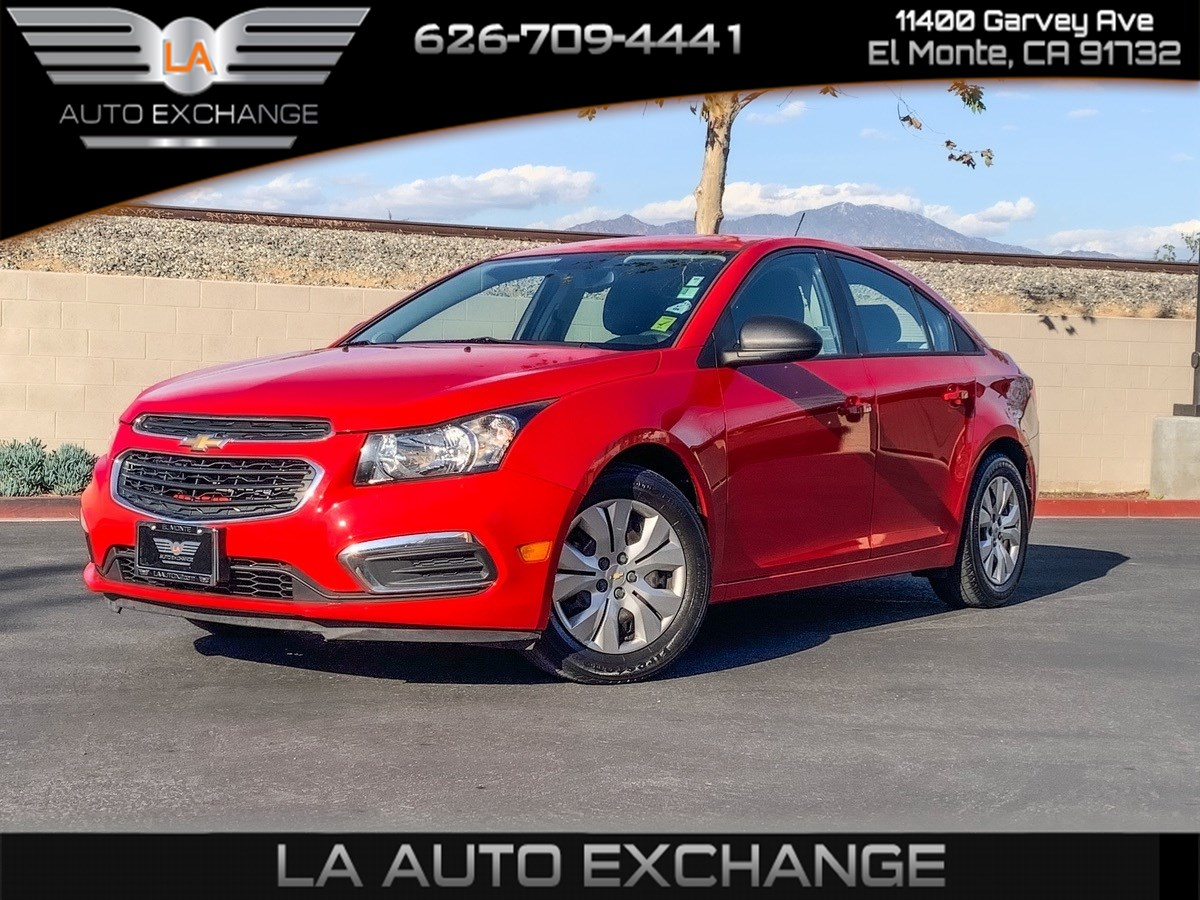 2016 Chevrolet Cruze Limited LS (MP3 & Cruise Control)