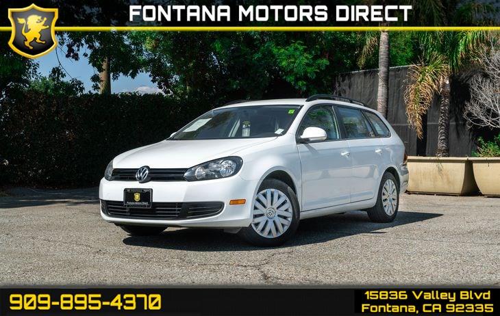 2014 Volkswagen Jetta SportWagen SportWagen S PZEV - Fontana Motors Direct