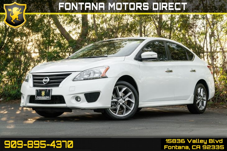 2015 Nissan Sentra SR (Back-Up Camera & Heated Front Seats)