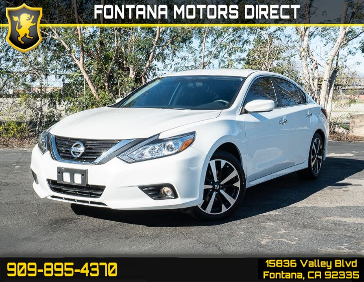 2018 Nissan Altima 2.5 SR (Back-Up Camera)
