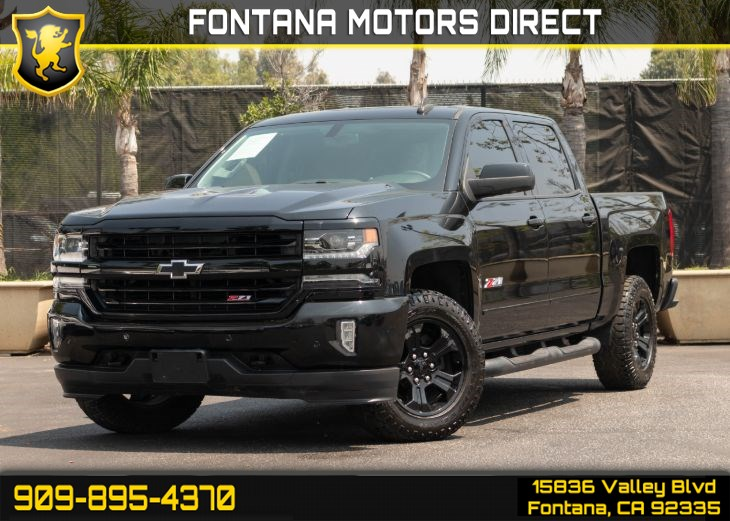 2017 Chevrolet Silverado 1500 Ltz Z71 Fontana Motors Direct
