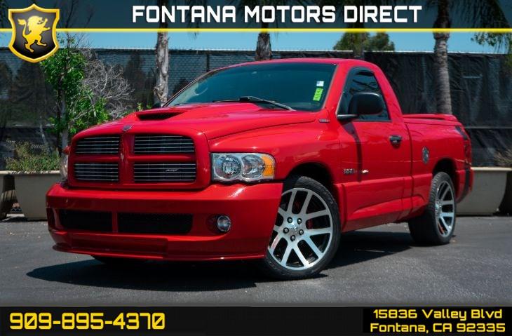 Dodge Ram Srt 10 >> 2004 Dodge Ram Srt 10 Base Fontana Motors Direct