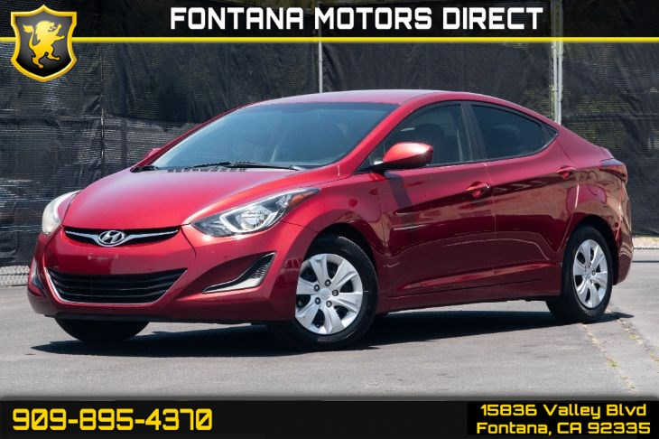 2016 Hyundai Elantra SE (Cruise Control & Auto Dimming Rear View Mirror)