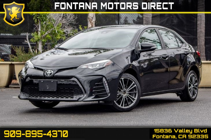 2017 Toyota Corolla SE (Back-Up Camera & Bluetooth Connection)
