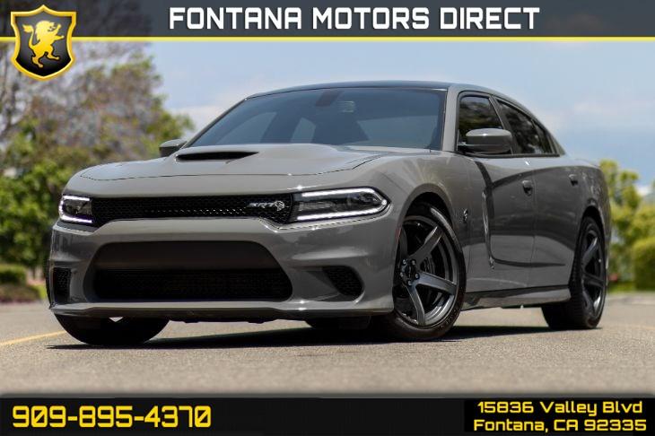 2018 Dodge Charger SRT Hellcat - Fontana Motors Direct