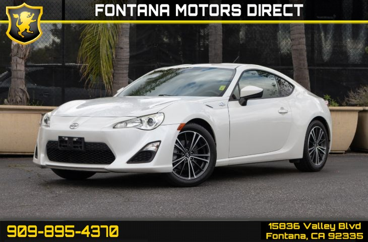 2013 Scion FR-S (BESPOKE PREMIUM AUDIO SYSTEM Package)