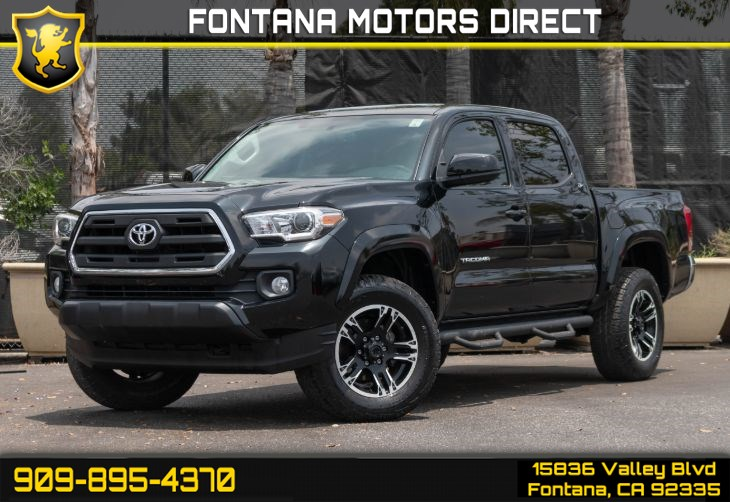 2016 Toyota Tacoma (SR5 APPEARANCE PACKAGE)