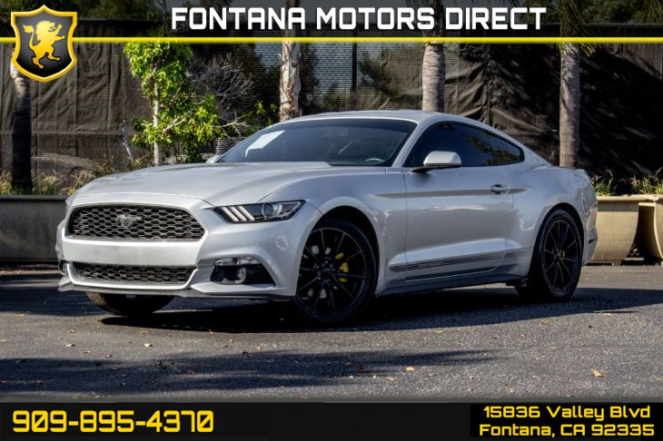 2016 Ford Mustang EcoBoost (Wheel & Stripe Package & Back-up Camera)