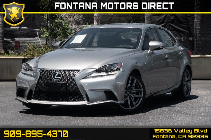 2015 Lexus IS 250 (F-Sport Package)