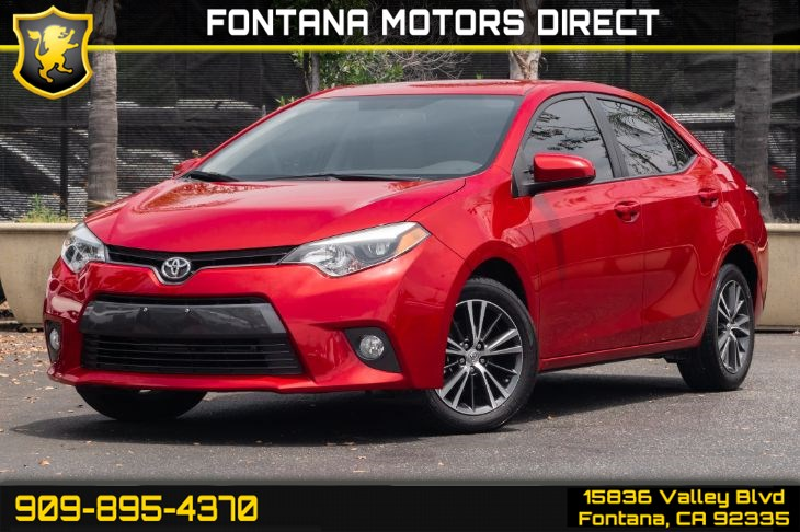 2016 Toyota Corolla LE (BACK-UP CAMERA & BLUETOOTH CONNECTION)