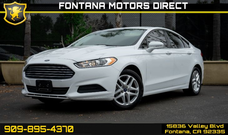 2016 Ford Fusion SE (Technology Package & Reverse Sensing Package)