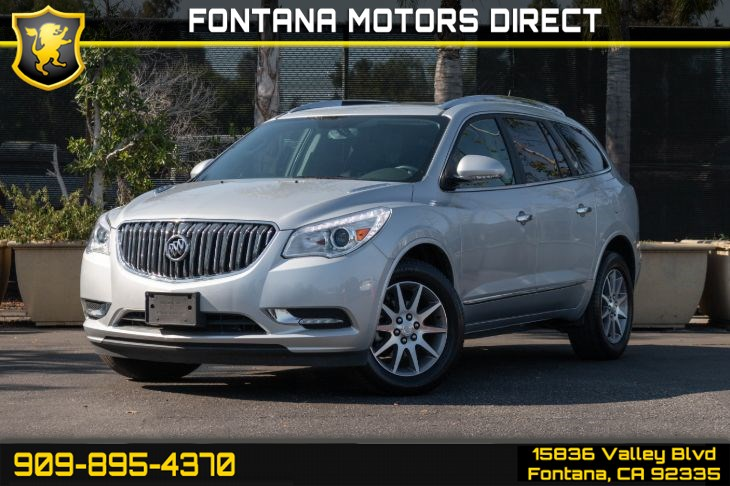 2016 Buick Enclave (Leather & Dual Moonroof)