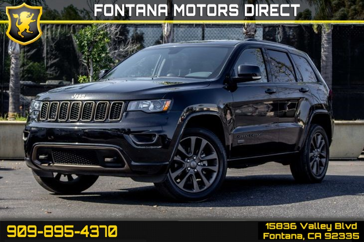 2016 Jeep Grand Cherokee Limited 75th Anniver