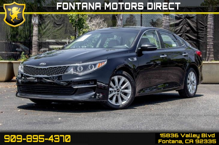 2016 Kia Optima EX (Premium Package & Premium Audio Package)