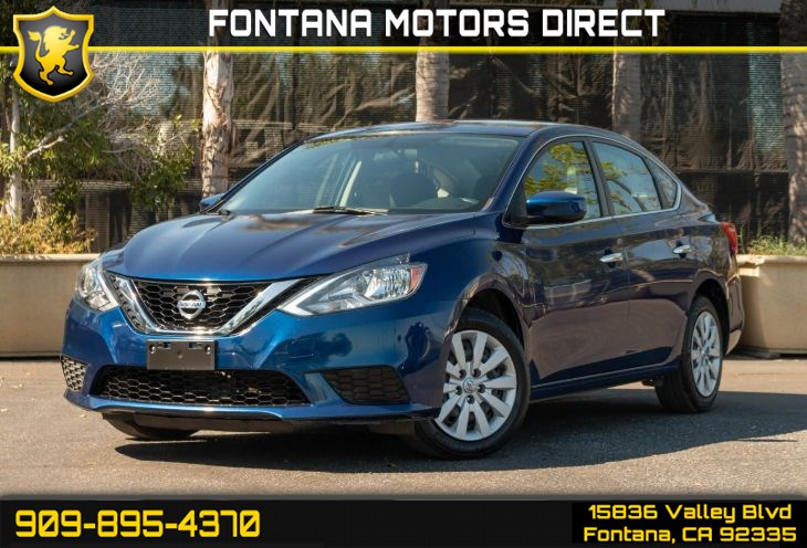 2016 Nissan Sentra S (Bluetooth Connection)