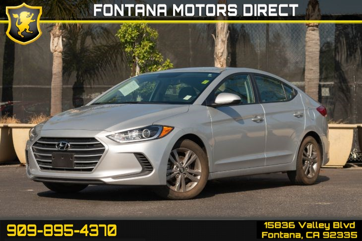 2017 Hyundai Elantra SE (Popular Equipment Package & Back-up Camera)